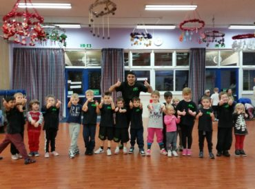 Super Sparks self defence and martial arts class at Defence Lab Training