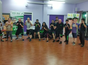 DNA self defence and martial arts class at Defence Lab Training