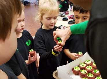 DL Cupcakes at Defence Lab Training