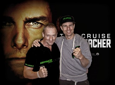 Andy Norman withTom Cruise